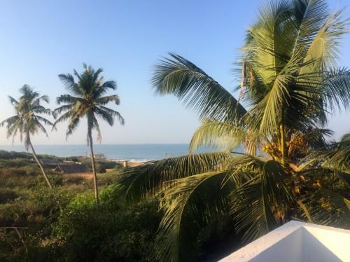 Goa ,walk to do Morning Yoga